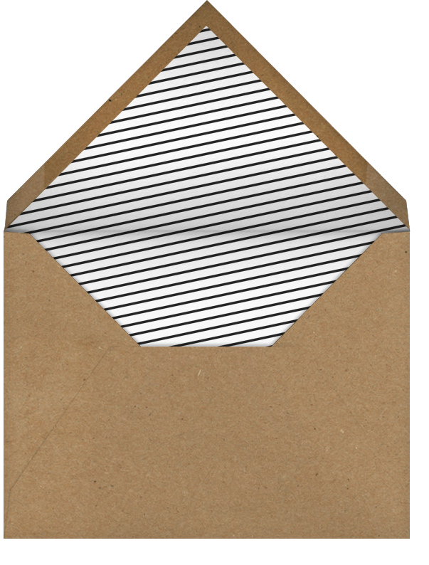 Idylle - White/Gold - Paperless Post - Retirement party - envelope back
