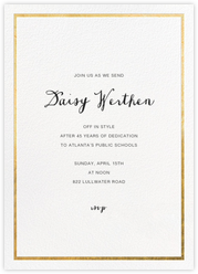 Farewell Party Invitations Online At Paperless Post