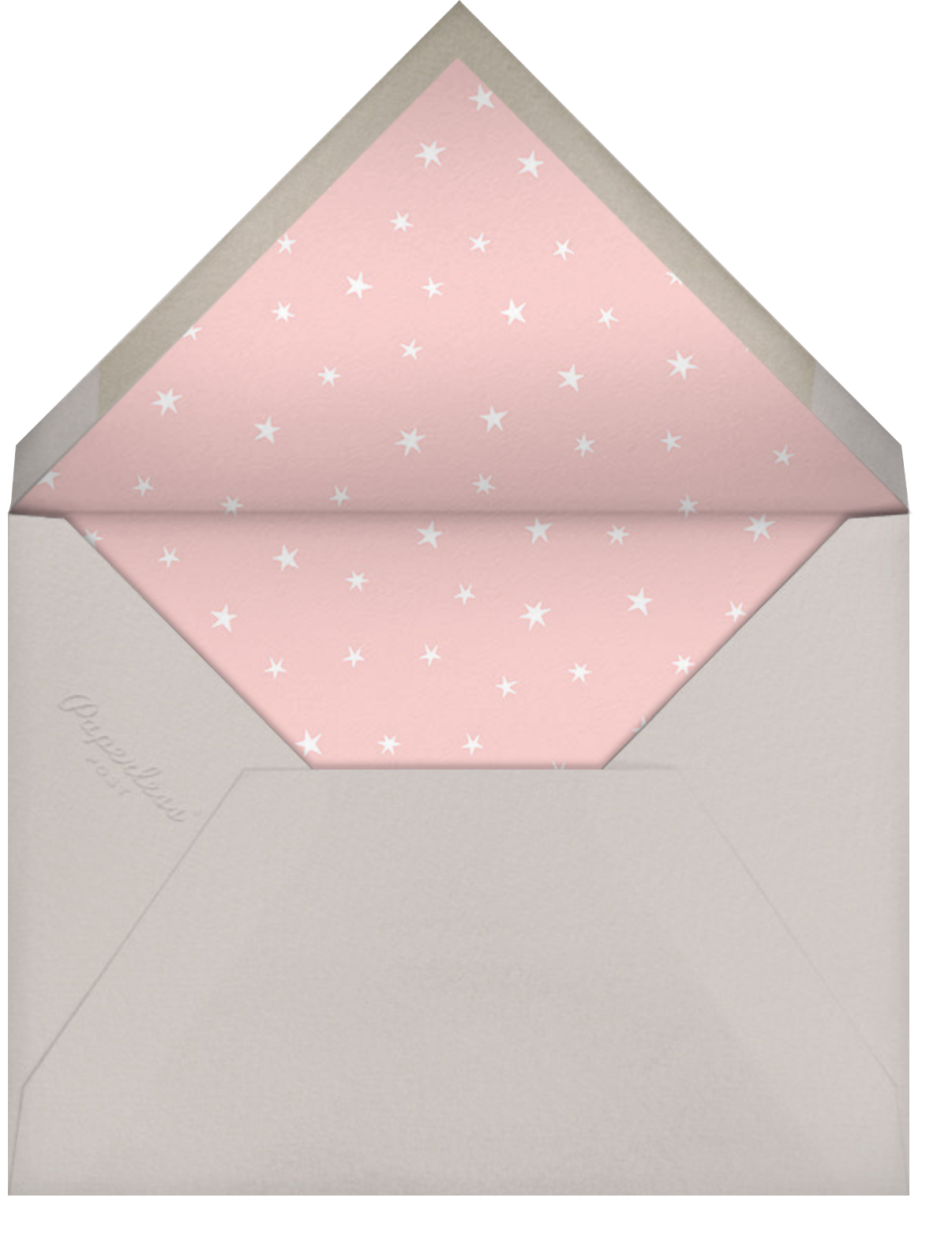 Starry Elephant - Pink - Hello!Lucky - Designs we love - envelope back