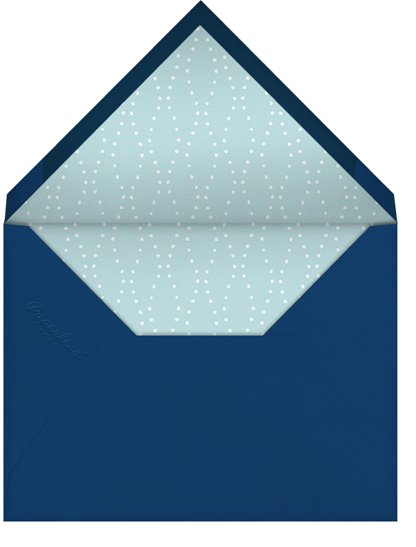 Carnaby - Blue - Paperless Post - Retirement party - envelope back