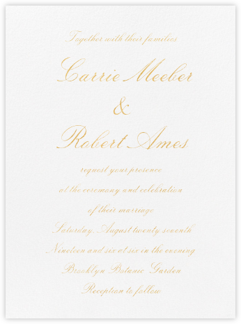 Manutius (Invitation) - Paperless Post - Modern wedding invitations