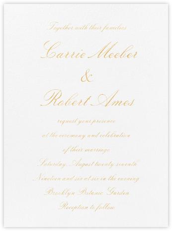 Manutius (Invitation) - Paperless Post - Wedding Invitations