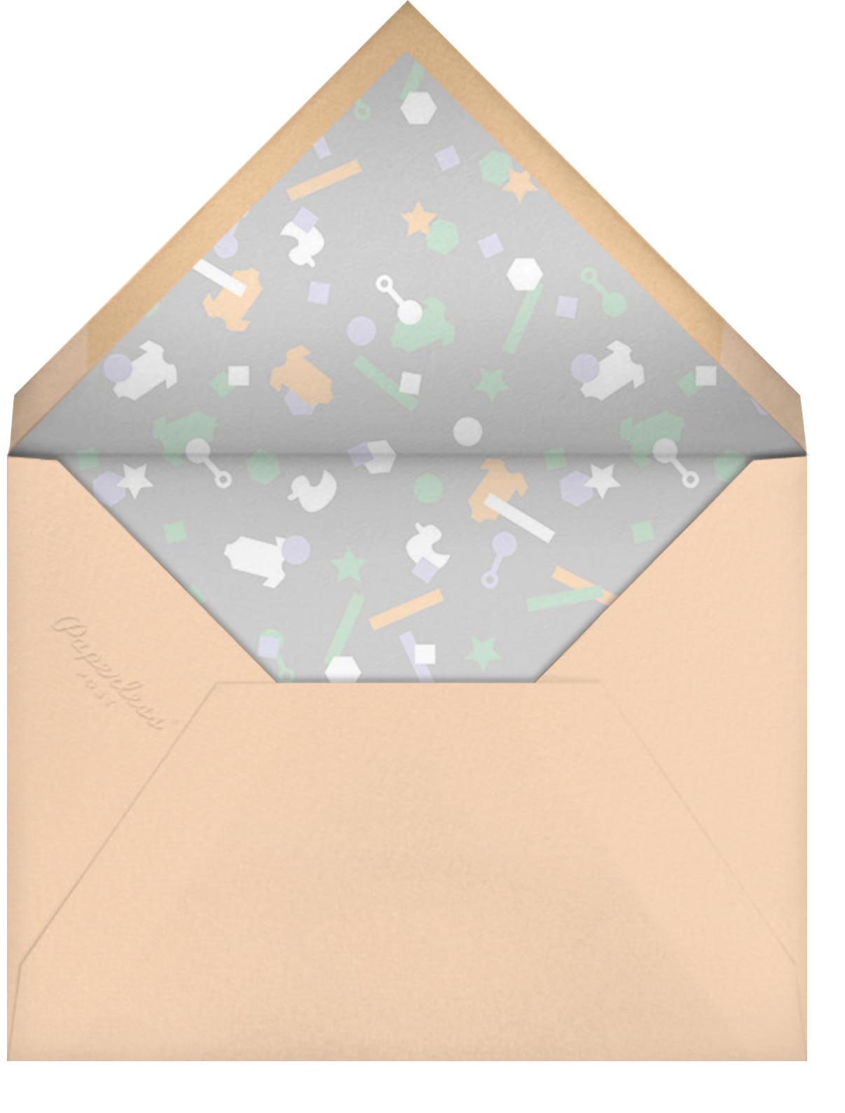 Idylle (Photo)  - Gold - Paperless Post - Birth - envelope back