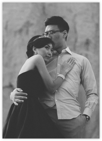 Full-Page Photo (Double-Sided) - Paperless Post - Wedding invitations