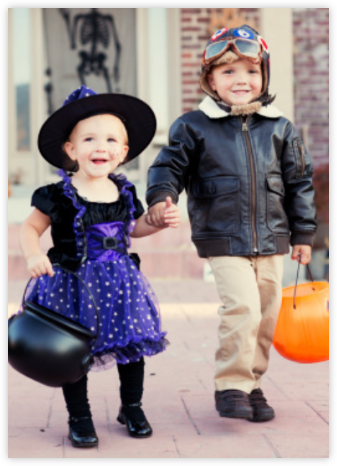Full-Page Photo (Double-Sided) - Paperless Post - Halloween invitations