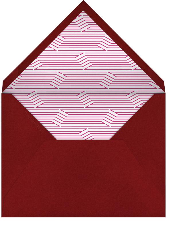 Lanterns - Pink - Paperless Post - Adult birthday - envelope back