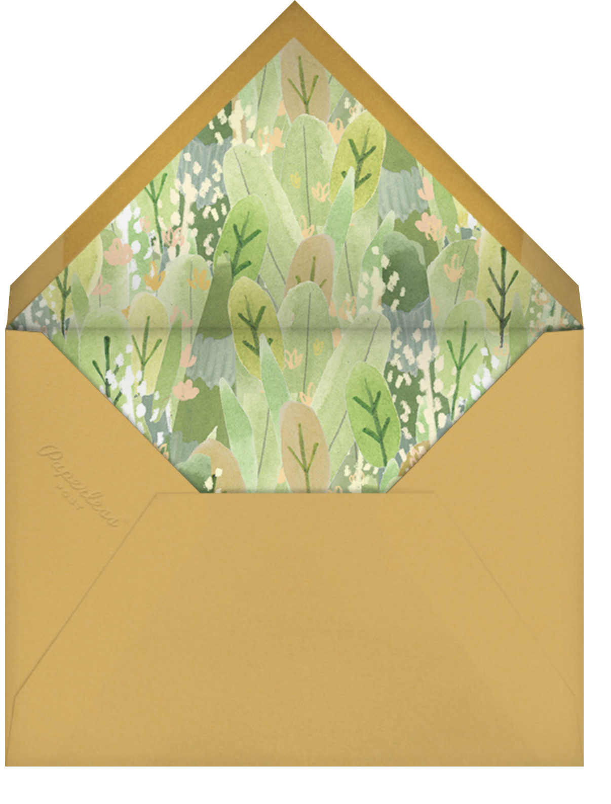 Apricot - Paperless Post - Envelope
