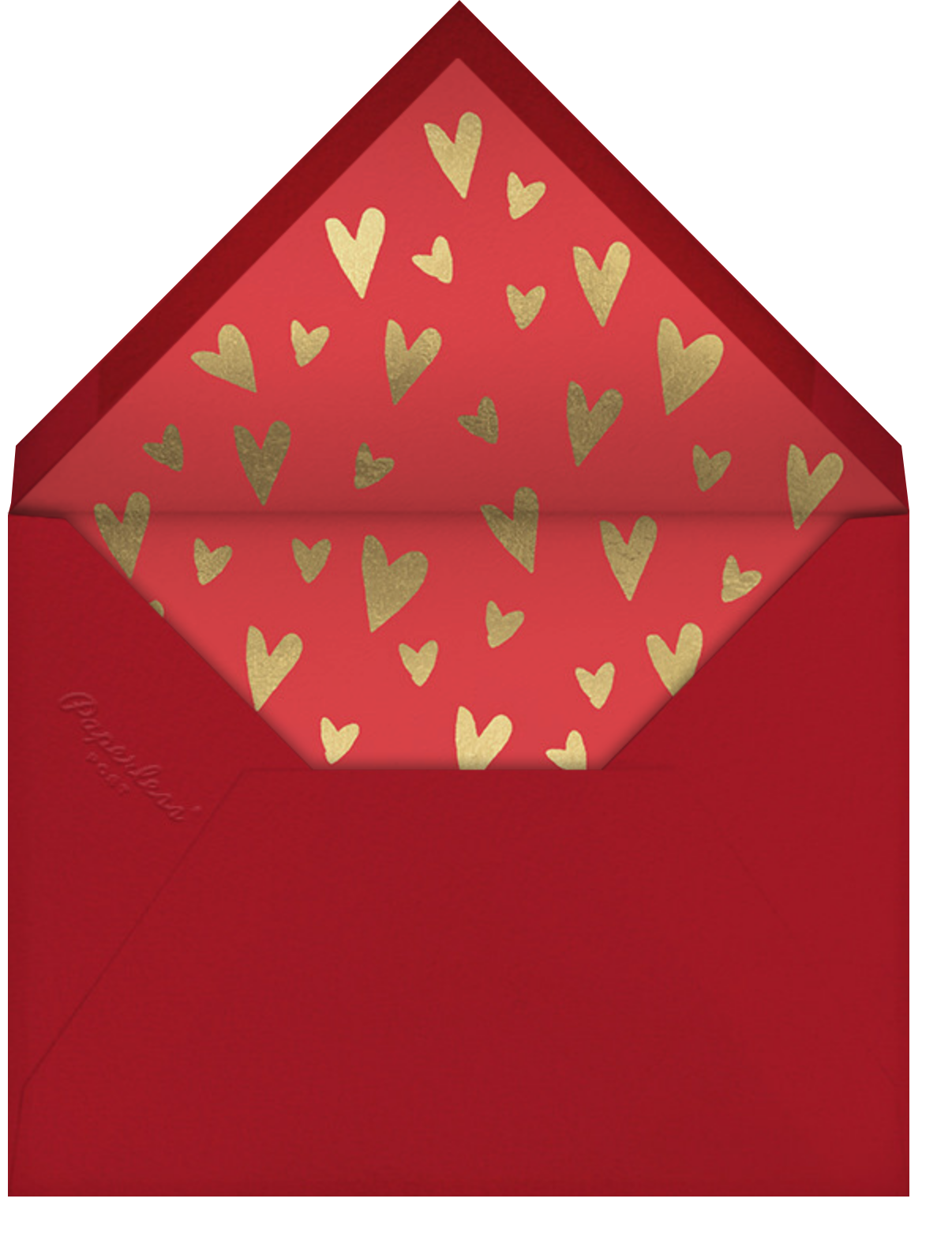 The Love Affairs of Henry T. - Paperless Post - Valentine's Day - envelope back