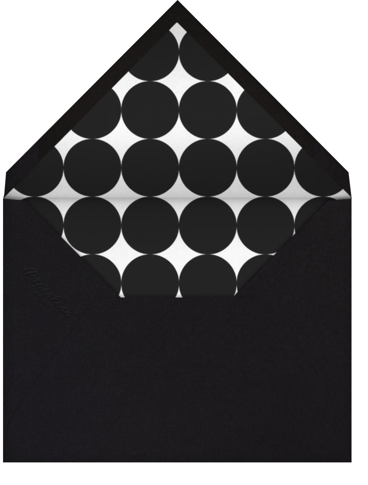 Painted Circle - Paperless Post - Envelope