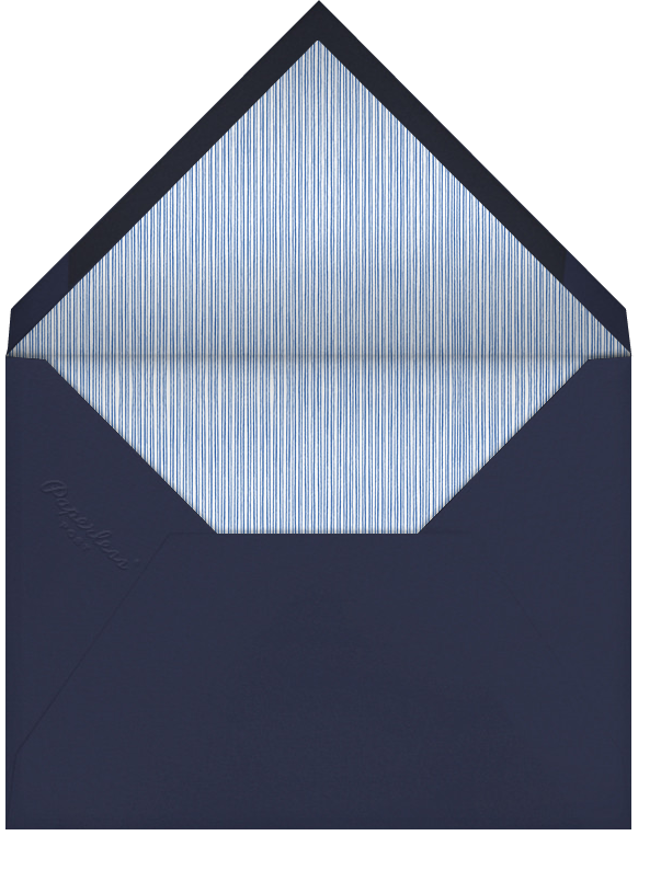 Copeland - Navy and Lapis Lazuli - Paperless Post - Bat and bar mitzvah - envelope back