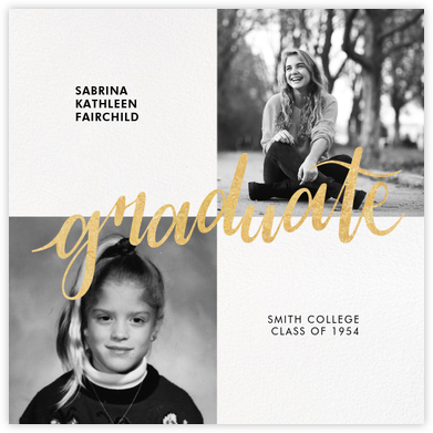 Squared Away - Paperless Post - Graduation Announcements