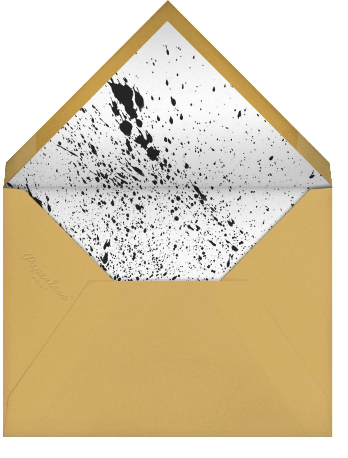 Graffiti Grad - Paperless Post - Graduation party - envelope back