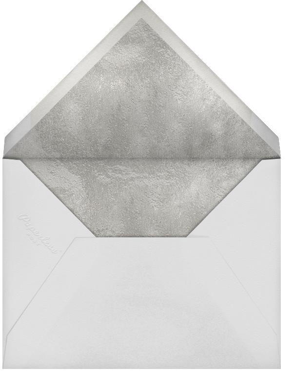 Confetti Caps (Photo) - Silver - Paperless Post - Graduation party - envelope back