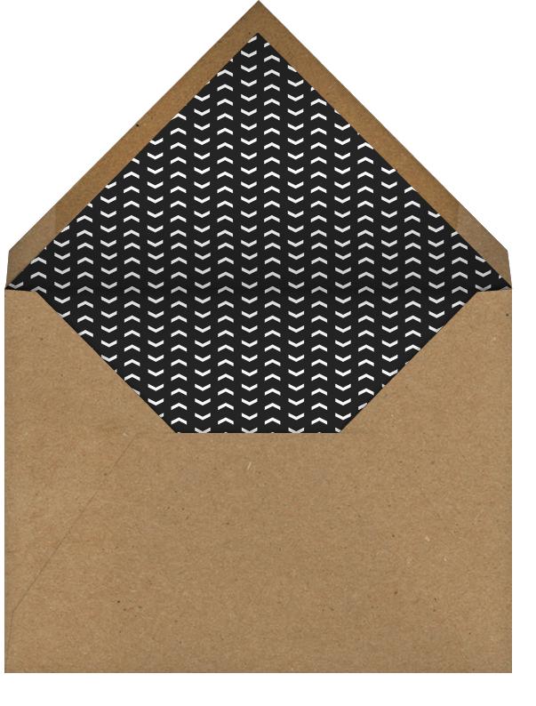 Calligraphed Grad - Gold - Paperless Post - Graduation - envelope back