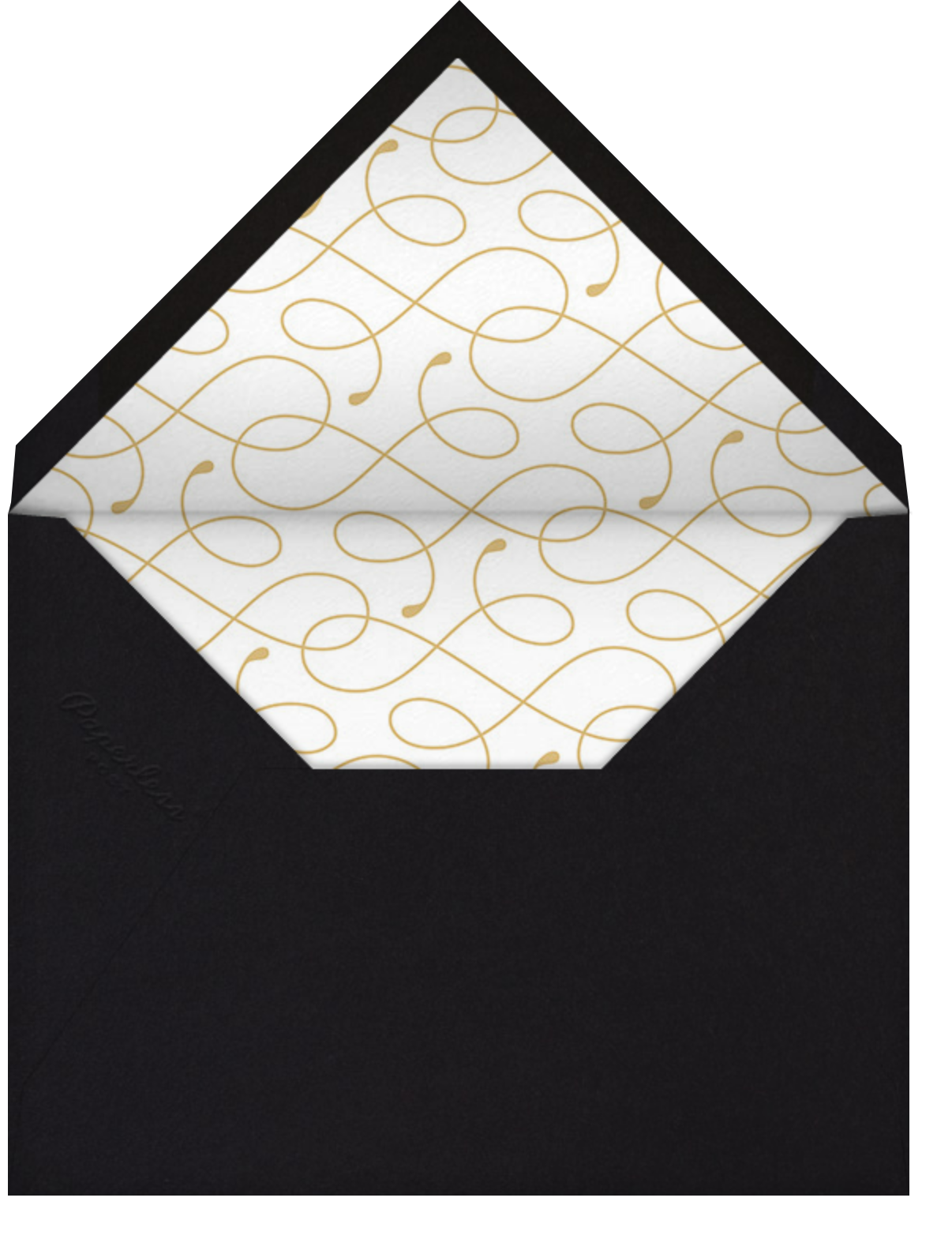 Date with Destiny - Paperless Post - Graduation party - envelope back