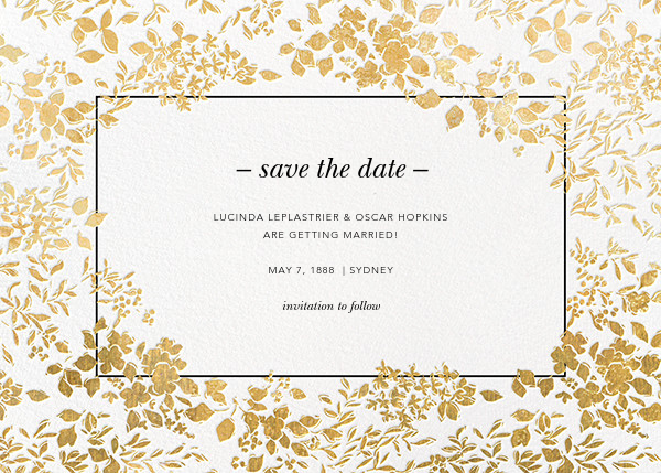 Party save the dates online at Paperless Post