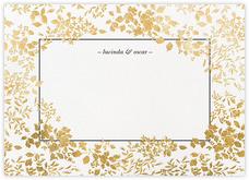 Richmond Park (Stationery) - White/Gold