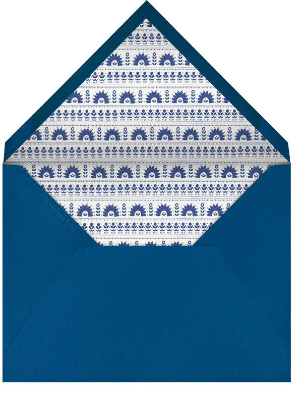 A Splendid Dutch Pot - Bermuda - Mr. Boddington's Studio - Engagement party - envelope back