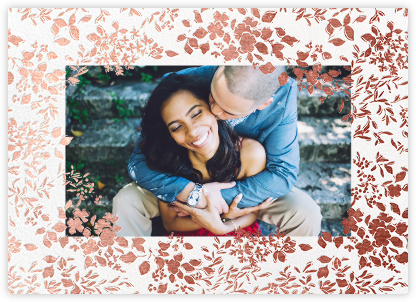Richmond Park (Photo Save the Date) - Rose Gold - Oscar de la Renta - Photo save the dates