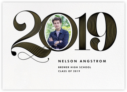 Date with Destiny - Paperless Post - Graduation announcements