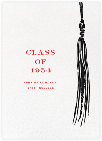 Tassel - Black - kate spade new york - Graduation announcements