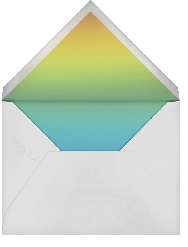 Three Photo Stripes - Paperless Post - Adult birthday - envelope back