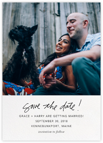 Penciled In - Linda and Harriett - Photo save the dates