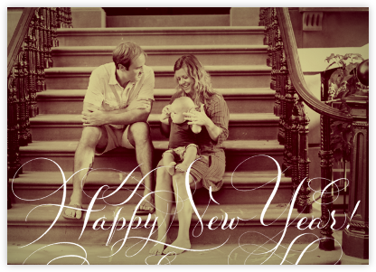 Happy New Year - Photo - Bernard Maisner - New Year Cards