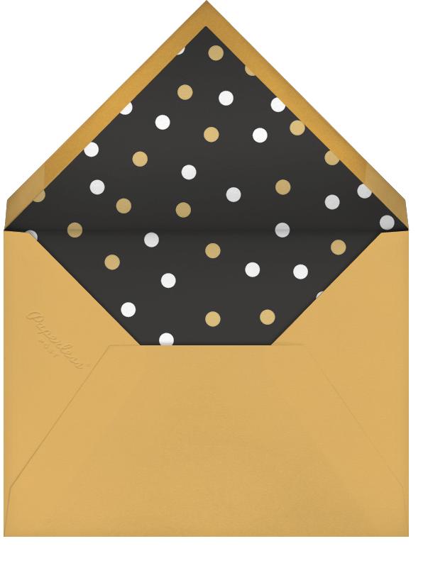 Glittering Grad (Photo) - Millet - Paperless Post - Graduation party - envelope back