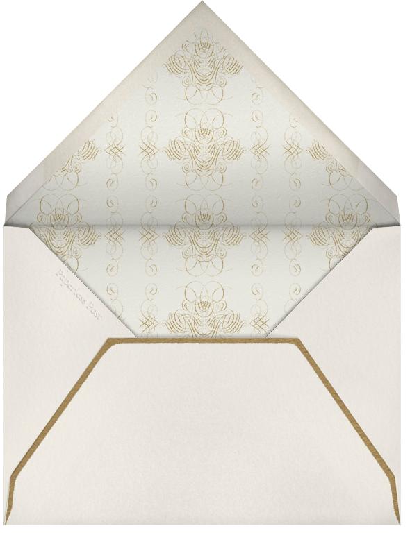 Celebrate Script - Cream/Gold - Bernard Maisner - Cocktail party - envelope back
