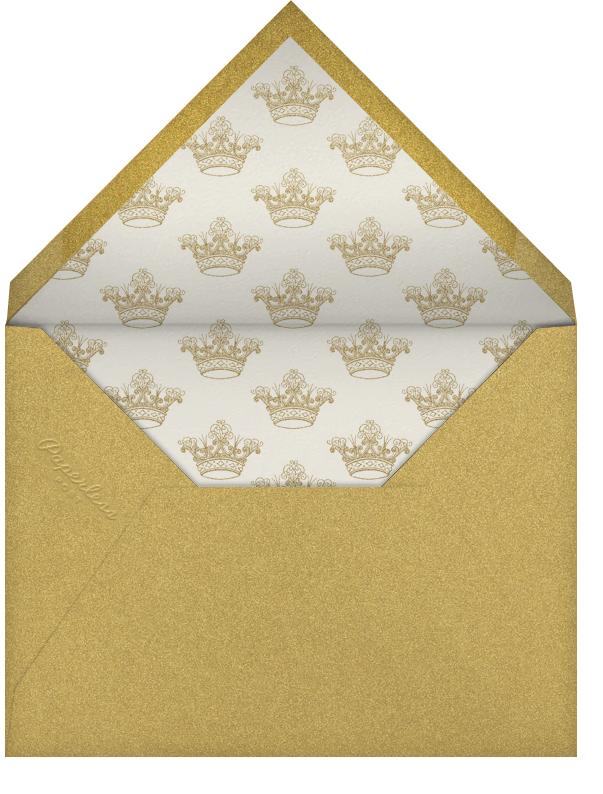 Cheers Script - Black/Gold - Bernard Maisner - Cocktail party - envelope back