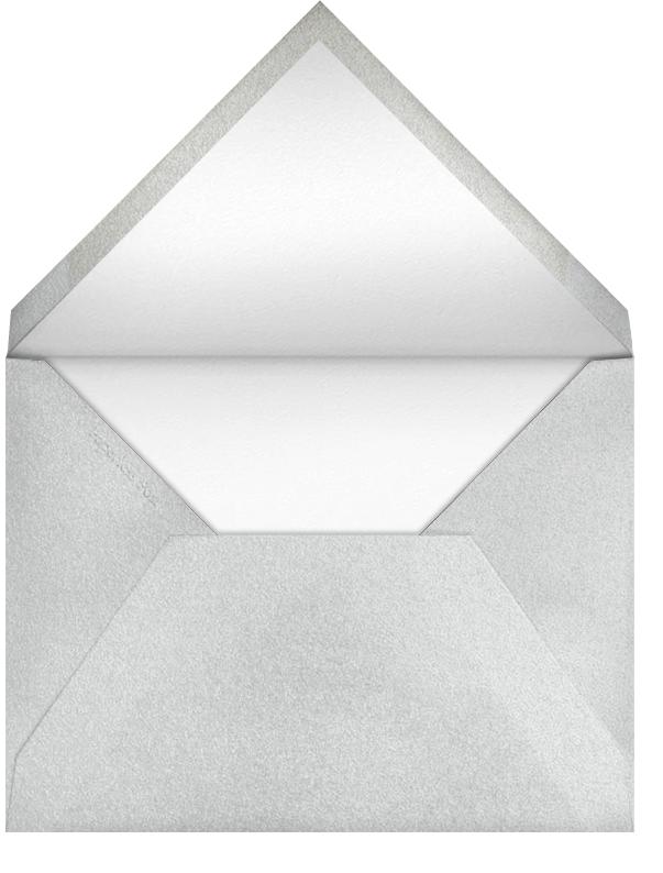 Hanukkah - Navy and Silver - Bernard Maisner - null - envelope back