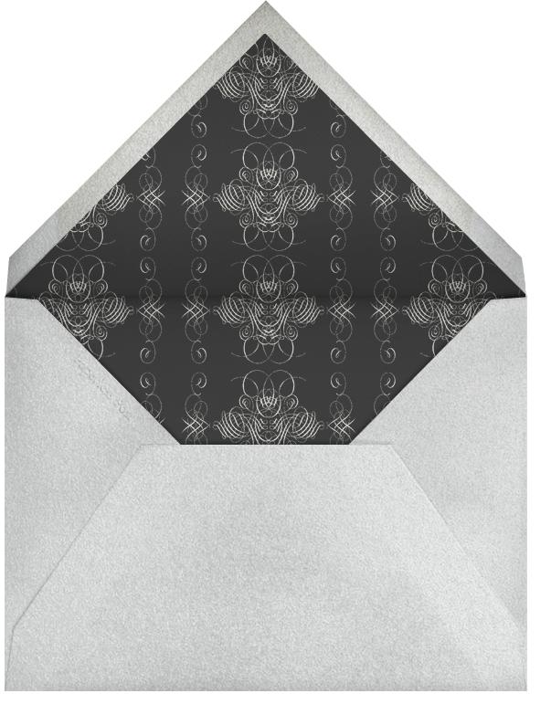 Hanukkah - Ivory and Silver - Bernard Maisner - null - envelope back