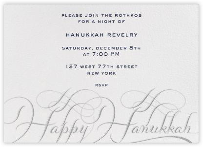Hanukkah - Ivory and Silver - Bernard Maisner -