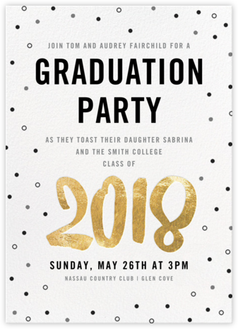 graduation invitations online at paperless post