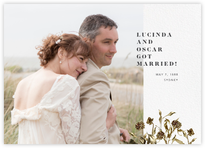 Rambouillet - Paperless Post - Wedding Announcements