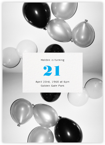 Center Cut Out - Paperless Post - Adult Birthday Invitations