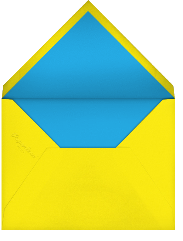 Kaleidoscope - Blue - Paperless Post - Adult birthday - envelope back