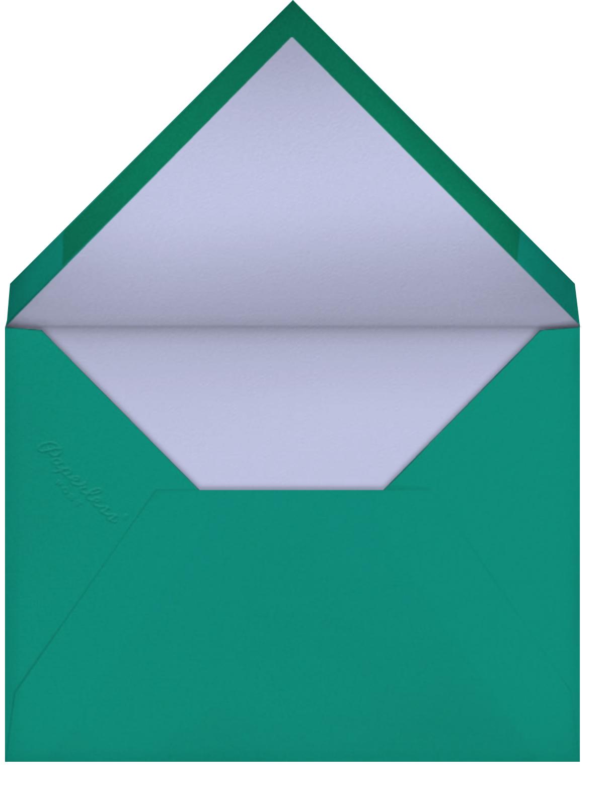Cupcake Foils - Paperless Post - Adult birthday - envelope back