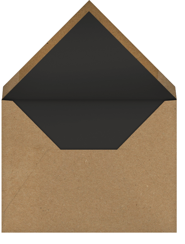 Medium Format Film - Paperless Post - Adult birthday - envelope back