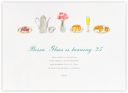 Brunch - Paperless Post - Adult birthday invitations