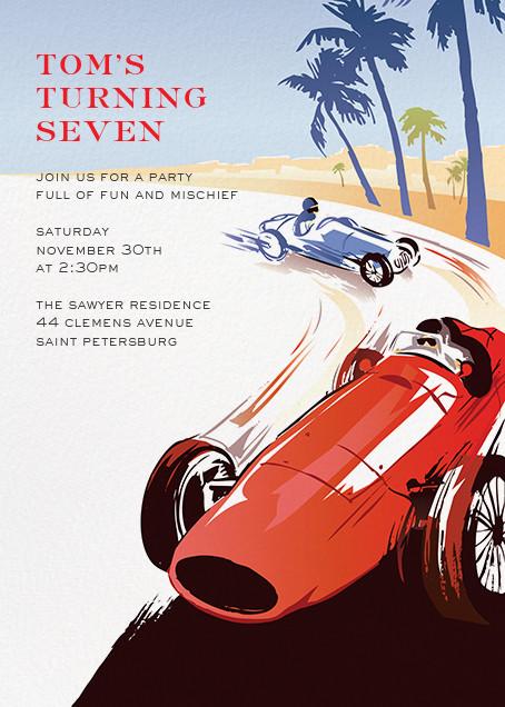 Monaco - Paperless Post - Summer entertaining invitations