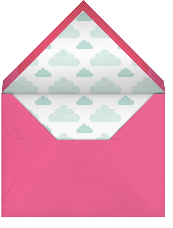 Cloud Nine - Hello!Lucky - Baby shower - envelope back