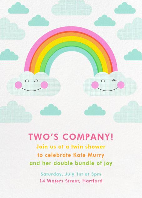Cloud Nine - Hello!Lucky - Baby shower invitations