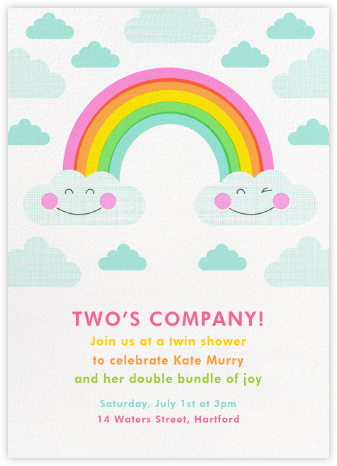 Cloud Nine - Hello!Lucky - Baby Shower Invitations