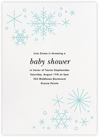 No Two Alike - Caribbean - Paperless Post - Baby Shower Invitations