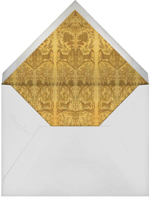 Gonzaga - Cabana - Holiday party - envelope back