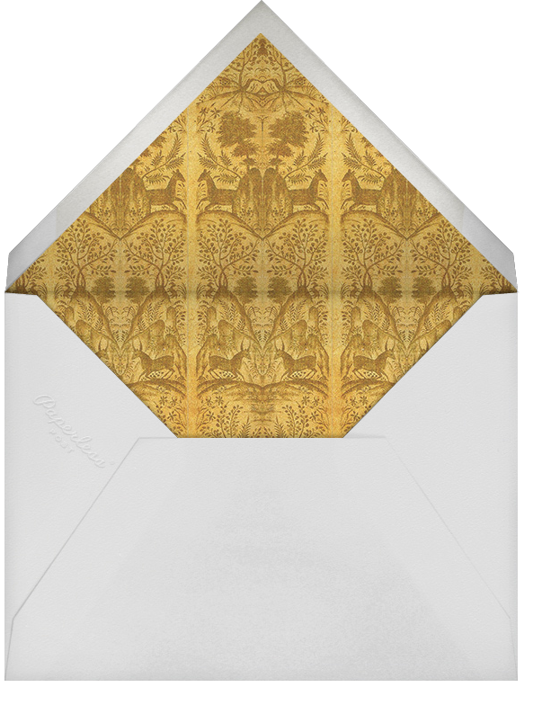 Gonzaga - Cabana - Anniversary party - envelope back