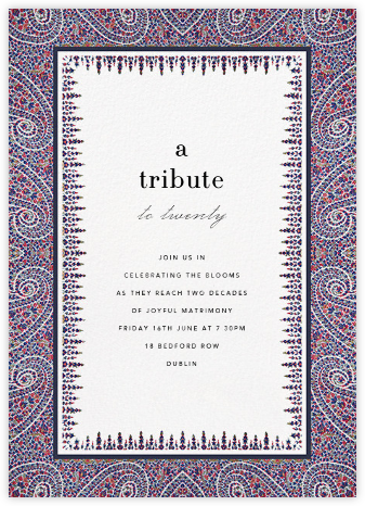Topkapi - Cabana - Celebration invitations