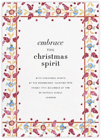 Monticello - Cabana - Holiday invitations